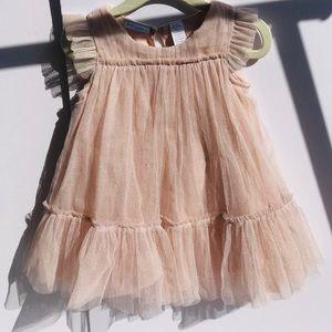 First impression pink dress